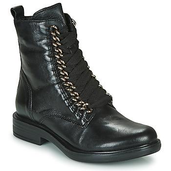 Sapatos Mulher Botas baixas Mjus CAFE CHAIN Preto
