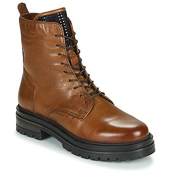 Sapatos Mulher Botas baixas Mjus DOBLE LACE Castanho