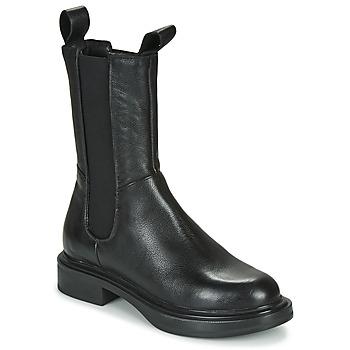 Sapatos Mulher Botas baixas Mjus MORGANA CHELS Preto