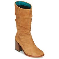 Sapatos Mulher Botas Mjus TUA Bege