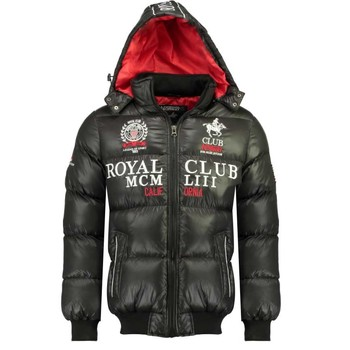 Textil Rapaz Quispos Geographical Norway AVALANCHE BOY Preto