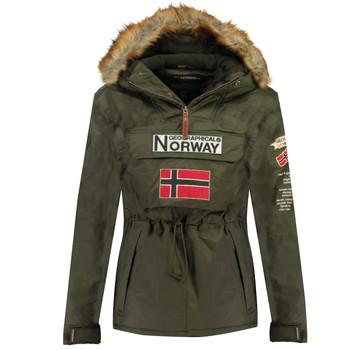 Textil Rapaz Parkas Geographical Norway BARMAN BOY Cáqui