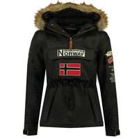 Textil Rapaz Parkas Geographical Norway BARMAN BOY Preto