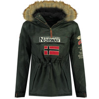 Textil Rapaz Parkas Geographical Norway BARMAN BOY Cinza
