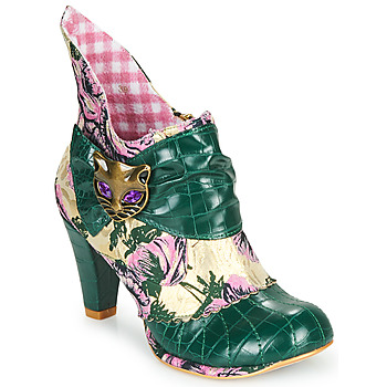 Sapatos Mulher Botins Irregular Choice MIAOW Verde