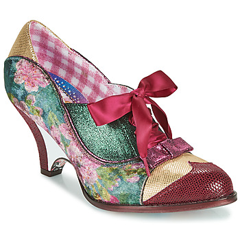 Sapatos Mulher Escarpim Irregular Choice FORCE OF BEAUTY Bordô / Verde