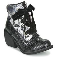 Sapatos Mulher Botas baixas Irregular Choice SCARPER Preto