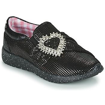 Sapatos Mulher Sapatilhas Irregular Choice TWO SHAKES Preto