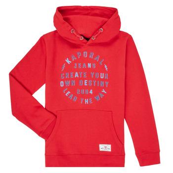 Textil Rapaz Sweats Kaporal OCTAV Vermelho
