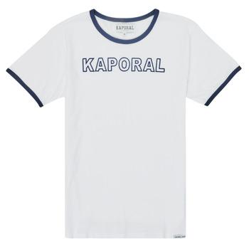 Textil Rapaz T-Shirt mangas curtas Kaporal ONYX Branco