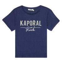 Textil Rapariga T-Shirt mangas curtas Kaporal MAPIK Marinho