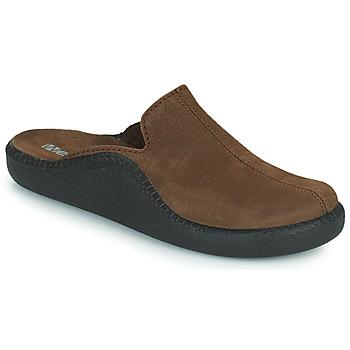 Sapatos Homem Chinelos Romika Westland MONACO 202 Castanho
