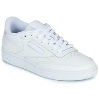 Sapatos Mulher Sapatilhas Reebok Classic CLUB C 85 Branco / Iridescente