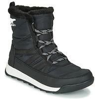 Sapatos Mulher Botas baixas Sorel WHITNEY II SHORT LACE Preto
