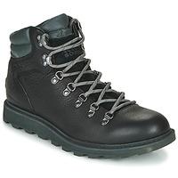 Sapatos Homem Botas baixas Sorel MADSON HIKER II WP Preto