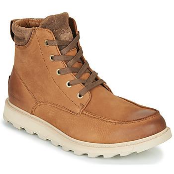Sapatos Homem Botas baixas Sorel MADSON II MOC TOE WP Castanho