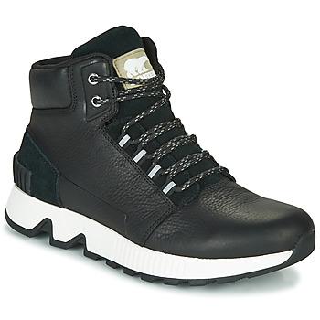 Sapatos Homem Sapatilhas de cano-alto Sorel MAC HILL MID LTR WP Preto