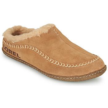Sapatos Homem Chinelos Sorel LANNER RIDGE Castanho
