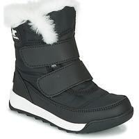 Sapatos Criança Botas baixas Sorel CHILDRENS WHITNEY™ II STRAP Preto