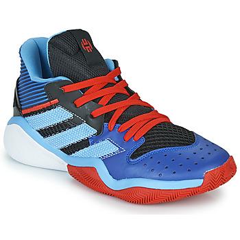 Sapatos Sapatilhas de basquetebol adidas Performance Harden Stepback Azul / Preto