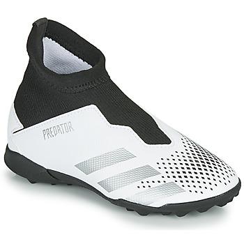 Sapatos Criança Chuteiras adidas Performance PREDATOR 20.3 LL TF Branco
