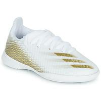 Sapatos Criança Chuteiras adidas Performance X GHOSTED.3 IN J Branco