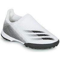Sapatos Criança Chuteiras adidas Performance X GHOSTED.3 LL TF J Branco