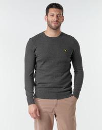 Textil Homem camisolas Lyle & Scott KN400VC Cinza