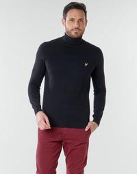 Textil Homem camisolas Lyle & Scott KN1020V Preto