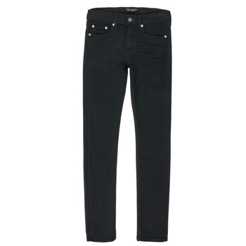 Textil Rapaz Calças Jeans Teddy Smith FLASH Preto