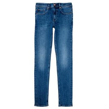 Textil Rapaz Calças Jeans Teddy Smith FLASH Azul
