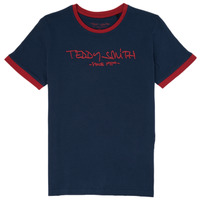 Textil Rapaz T-Shirt mangas curtas Teddy Smith TICLASS 3 Marinho