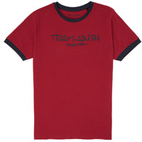 Textil Rapaz T-Shirt mangas curtas Teddy Smith TICLASS 3 Vermelho