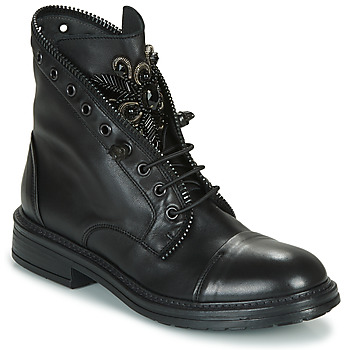 Sapatos Mulher Botas baixas Fru.it ADIETE Preto