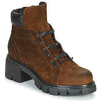 Sapatos Mulher Botins Fru.it POMPEI Castanho