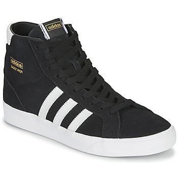 Sapatos Sapatilhas de cano-alto adidas Originals BASKET PROFI Preto