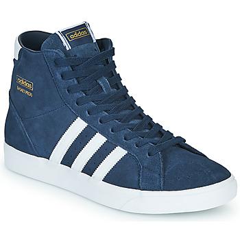 Sapatos Sapatilhas de cano-alto adidas Originals BASKET PROFI Azul