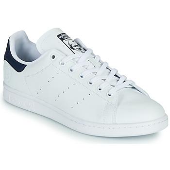 Sapatos Sapatilhas adidas Originals STAN SMITH VEGAN Branco / Azul