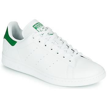 Sapatos Sapatilhas adidas Originals STAN SMITH VEGAN Branco / Verde