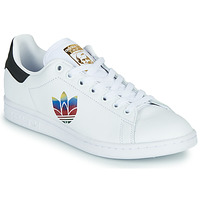 Sapatos Mulher Sapatilhas adidas Originals STAN SMITH W Branco / Logo