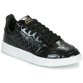 Sapatos Mulher Sapatilhas adidas Originals SUPERCOURT W Preto / Verniz