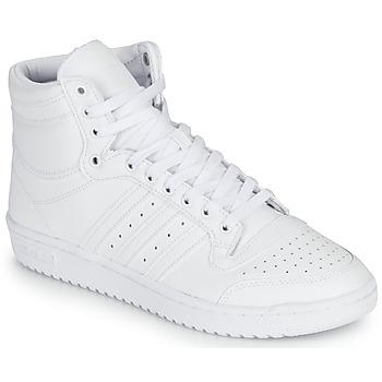 Sapatos Sapatilhas de cano-alto adidas Originals TOP TEN Branco
