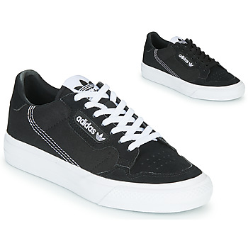 Sapatos Criança Sapatilhas adidas Originals CONTINENTAL VULC J Preto