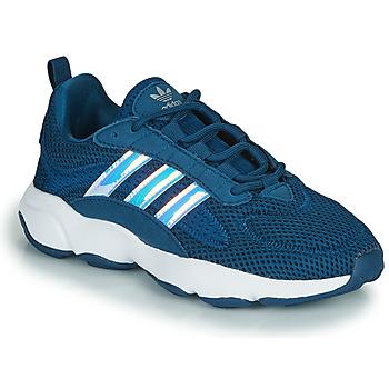 Sapatos Rapaz Sapatilhas adidas Originals HAIWEE J Azul