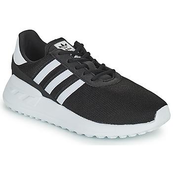 Sapatos Criança Sapatilhas adidas Originals LA TRAINER LITE C Preto / Branco
