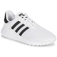 Sapatos Criança Sapatilhas adidas Originals LA TRAINER LITE J Branco / Preto