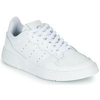 Sapatos Criança Sapatilhas adidas Originals SUPERCOURT J Branco