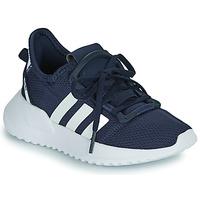 Sapatos Rapaz Sapatilhas adidas Originals U_PATH RUN C Marinho / Branco