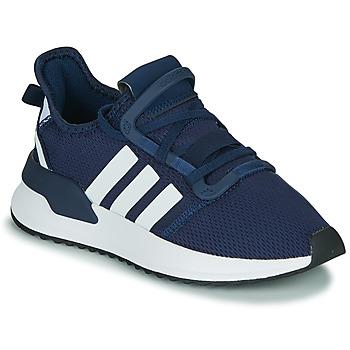 Sapatos Rapaz Sapatilhas adidas Originals U_PATH RUN J Marinho / Branco