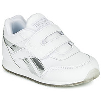 Sapatos Rapariga Sapatilhas Reebok Classic REEBOK ROYAL CLJOG Branco / Prateado